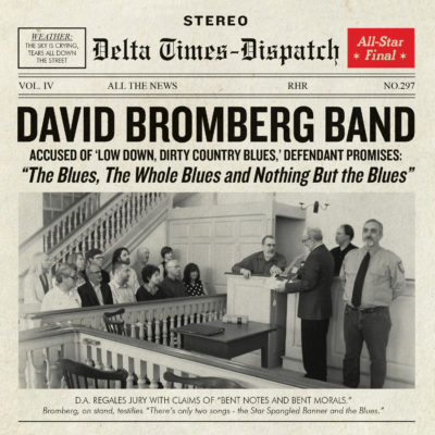 David Bromberg Remains on Billboard Blues Chart! |